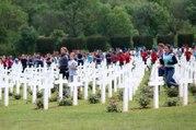 Cérémonie à l'Ossuaire de Douaumont