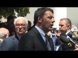 Venezia - Renzi per l'inaugurazione della Biennale (28.05.16)