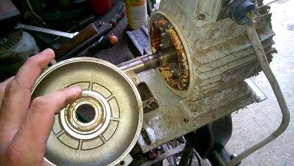 sostituzione cuscinetti motore elettrico