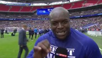 Adebayo Akinfenwa's Epic Last Interview For AFC Wimbledon After Clinching Promotion!