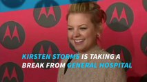 Kirsten Storms temporarily leaves General Hospital due to 'skin issues'