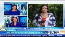 Oposición venezolana se reunirá con rectores del CNE para exigir puntos de validación de firmas para revocatorio