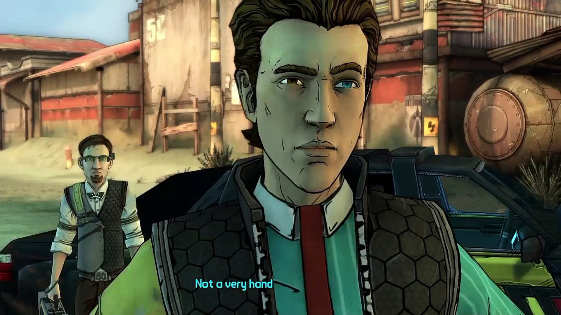 SO MUCH BLOOD- Tales of the borderlands ep 1: p3