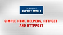 ASP.NET MVC 4 Tutorial In Urdu - Simple HTML Helpers, HttpGet & HttpPost