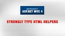 ASP.NET MVC 4 Tutorial In Urdu - Strongly Type HTML Helpers