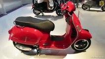 2014 Vespa GTS Super 125ie Scooter Walkaround 2013 EICMA Milano Motorcycle Exhibition1