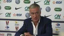 Foot - Amical - Bleus : Deschamps «c'est injuste pour Olivier»