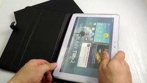"""Обзор: Шикарный Кожаный Чехол  для Samsung Galaxy Tab (2) 10.1"""" P5100 """"Capdase"""""""