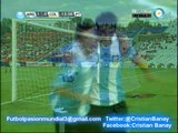 Argentina 3 Colombia 2 (Tv Publica) Sudamericano Sub 20  2013 Los goles (17/1/2013)
