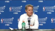 Steve Kerr Postgame Interview  Warriors vs Thunder  Game 6  May 28, 2016  2016 NBA Playoffs