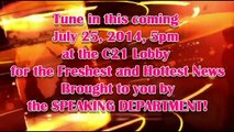 EOP News Report July 25, 2014 (Headlines) - C21 International Language School