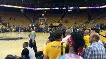 Warriors & Thunder's Pregame Warmup - Thunder vs Warriors - Game 7 - May 30, 2016 - NBA Playoffs