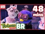 Os Backyardigans Episódios Para Crianças - A Fúria dos Robôs (Episódio Duplo) Compilação de 48 mins