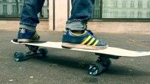 Skateboard - Adrénaline : Nous avons testé le SurfSkate