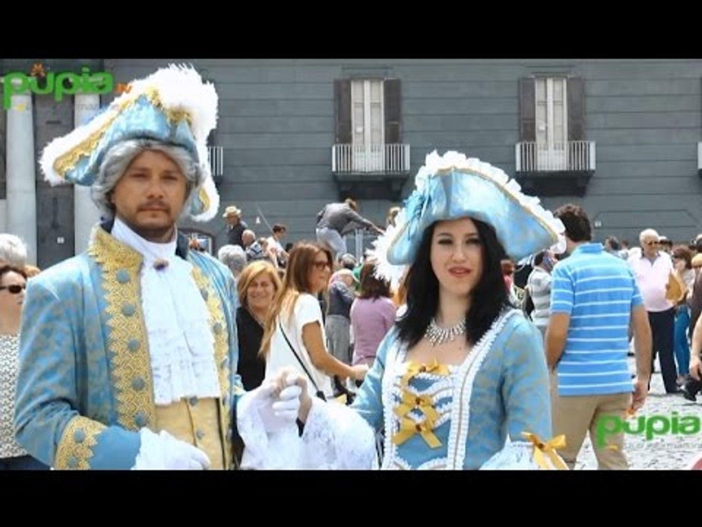 Napoli - Sfilata in maschera per celebrare Carlo di Borbone (30.05.16)