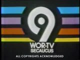 WOR-TV Station ID and Fright Night Open - 1985