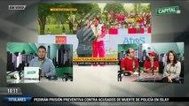 Entrevista a Gladys Tejeda en CapitalTV  1ra. Parte- 07-08-15