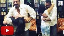 (Video) Sanjay Dutt Dancing With Wife Maanayata Dutt