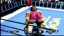 Virtual Pro Wrestling 64 Randy Savage vs Scott Steiner