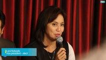 Robredo reacts regarding Duterte's statement that she won't be having any cabinet post