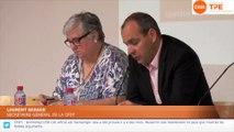 Conférence de presse avec Laurent Berger, lancement de la campagne TPE-CFDT