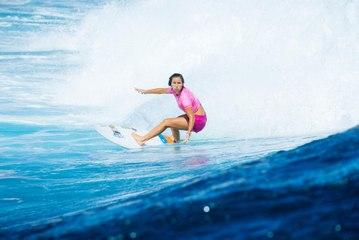 WSL - Fiji Women Pro - Le meilleur de Johanne Defay en phases finales