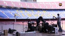 The Camp Nou Terrace, a unique venue for events, kicks off the season! FCB Meetings & Events