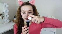 Metallic Lips   Drugstore Makeup Tutorial Using Affordable Brushes