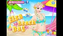 Game HK Kids - Disney Frozen Elsa Summer Game   Elsa Beach Day   Games For Girls in HD 2015