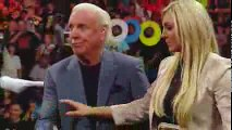 Ric Flair Wants to Fight Shane McMahon & Gets Slapped by Stephanie McMahon WWE Raw 16th May 2016