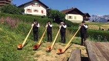 Le Festival international de cor des Alpes de Nendaz débute le 24 juillet