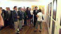 Moliner inaugura la restauración de 28 lienzos del siglo XVIII de la Arciprestal de Morella