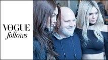 En backstage du défilé Balmain avec Sam McKnight, Kendall Jenner, Gigi Hadid... | #VogueFollows |  VOGUE PARIS