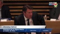 Christian Estrosi veut une rue Charles Pasqua à Nice