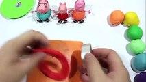 Peppa Pig Cakes Create Clay Biscuit And Cookie Rainbow With Peppa Pig Español
