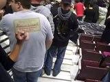 Hetfield & Trujillo leaving the Stage - Little Rock Nov 22, 2008