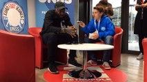 Euro foot jeunes:Interview de Djibril Cissé