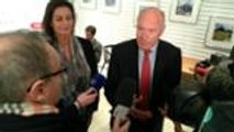 Alain Rousset après le 1er tour des élections régionales en Aquitaine