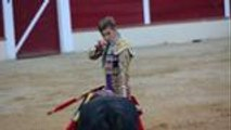 Novillada de Garlin avec le matador Younes