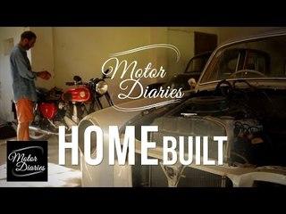 Morris Minor & Mercedes 180D - Home Built | Motor Diaries
