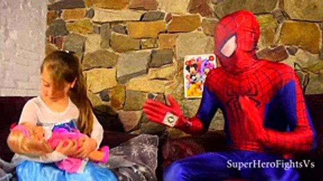 Spiderman Frozen Elsa Venom Peppa Pig SpongeBob Shrek Dinosaur Doll Lion Super Hero Complilation