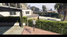 GTA 5 BMX STUNT MONTAGE    Inception  Bike Stunts Montage Grand Theft Auto 5 Stunts