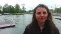 Jessica Fox, une kayakiste de marque à la Coupe des Pyrénées