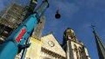 Pau : l'église Saint-Jacques a retrouvé sa cloche et sa flèche