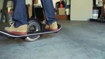 Almost an hoverboard skate board