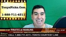 Miami Marlins vs. Pittsburgh Pirates Free Pick Prediction MLB Baseball Odds Preview 5-31-2016