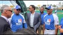 La MLB da un espaldarazo al béisbol de P.Rico con la visita de Rob Manfred