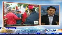 """""""Los países deben decidir de qué lado de la historia quieren estar"""": Carlos Vecchio a NTN24"""