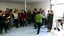 Les étudiants de l'IUT à l'école du rire (vidéo Renaud Joubert)