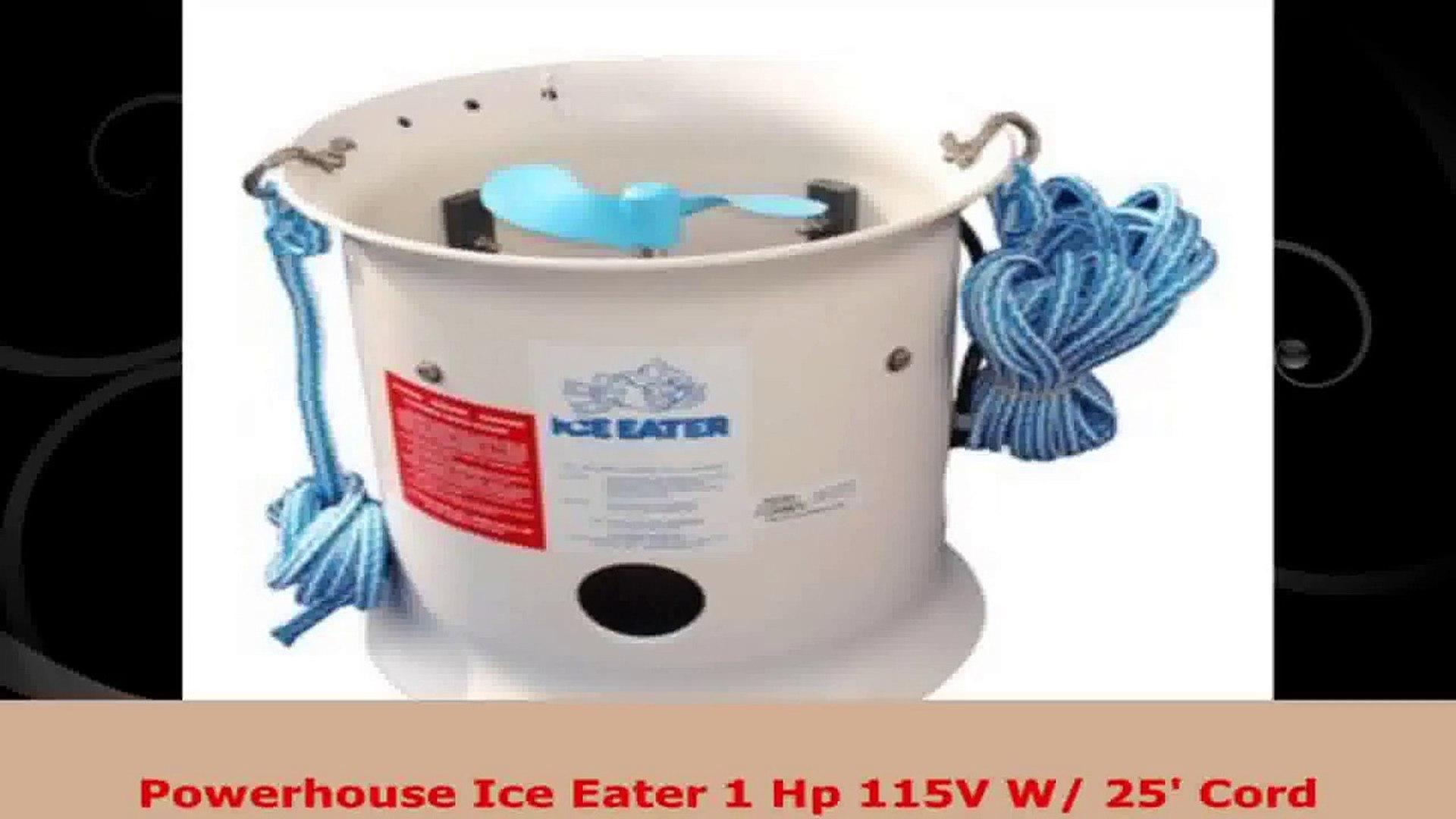 The Powerhouse Inc POWERHOUSE ICE EATER 3//4 HP 115V W// 50 CORD